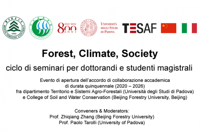 Collegamento a Forest, Climate, Society